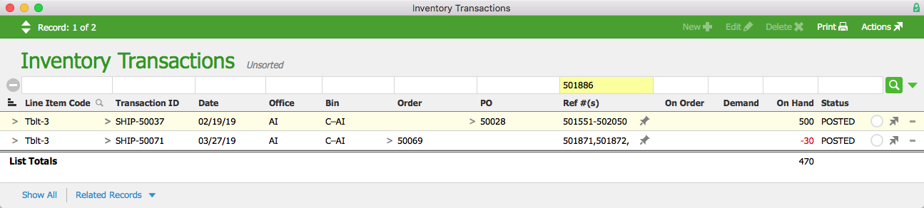 13 Inventory Transactions Serial