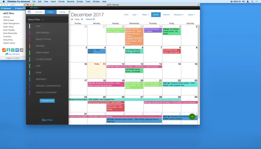 Make Scheduling a Snap with the aACE+ DayBack Calendar