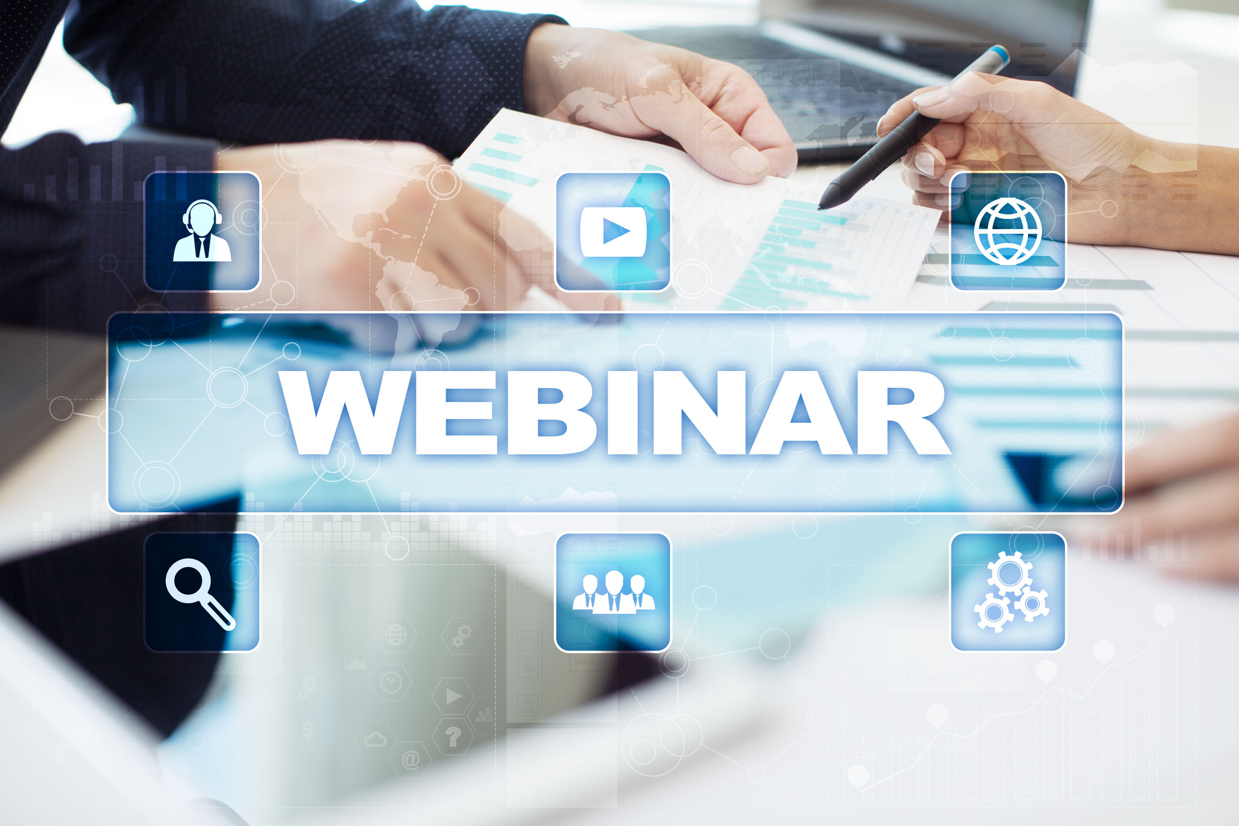 Register Now to Save Your Spot in Our July Webinars