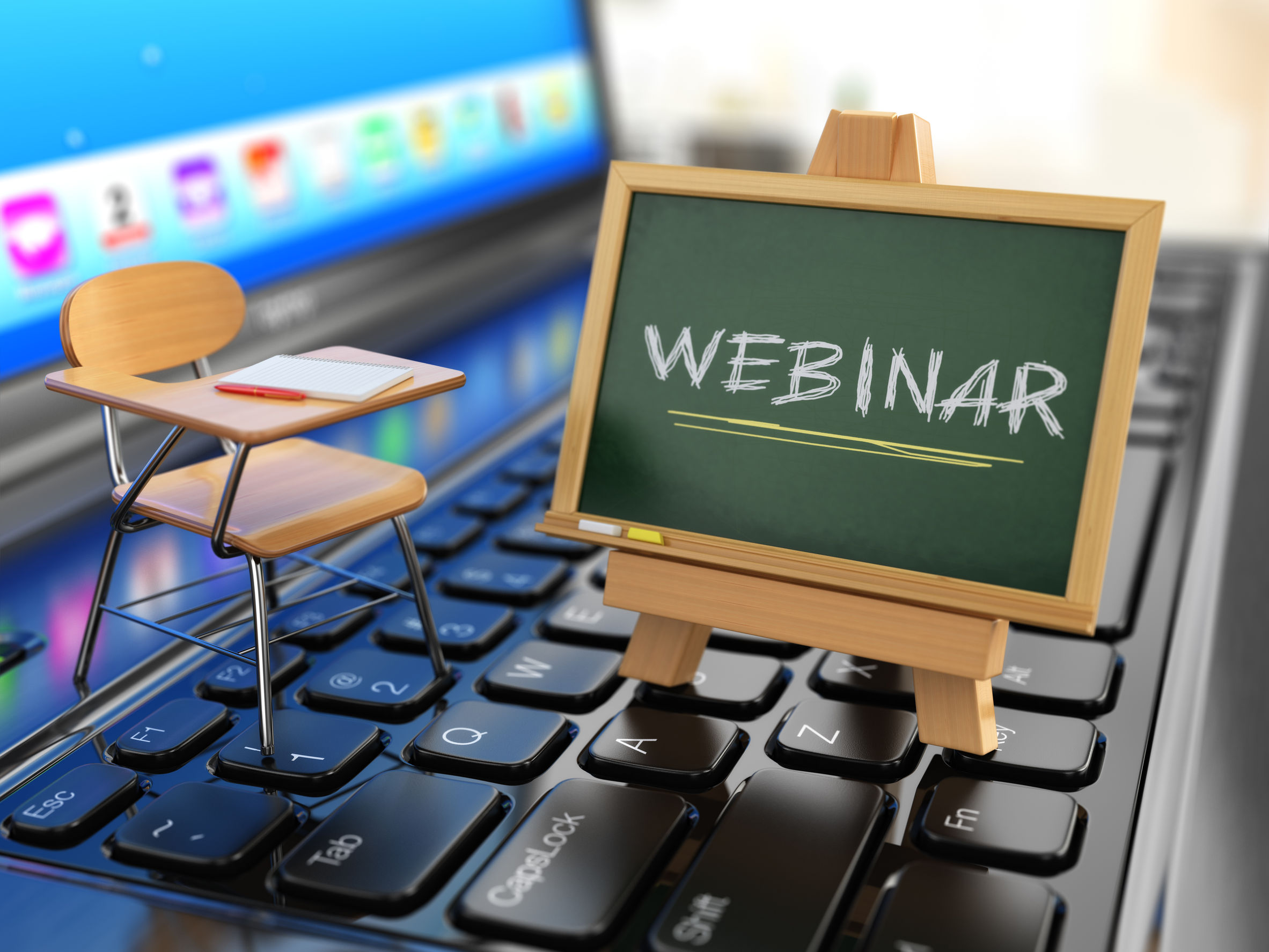 School's in Session! Register Now for our September Webinars